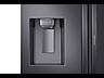 Thumbnail image of 22 cu. ft. Food Showcase Counter Depth 4-Door French Door Refrigerator in Black Stainless Steel