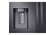 Thumbnail image of 23 cu. ft. 3-Door French Door, Counter Depth Refrigerator with CoolSelect Pantry™ in Black Stainless Steel