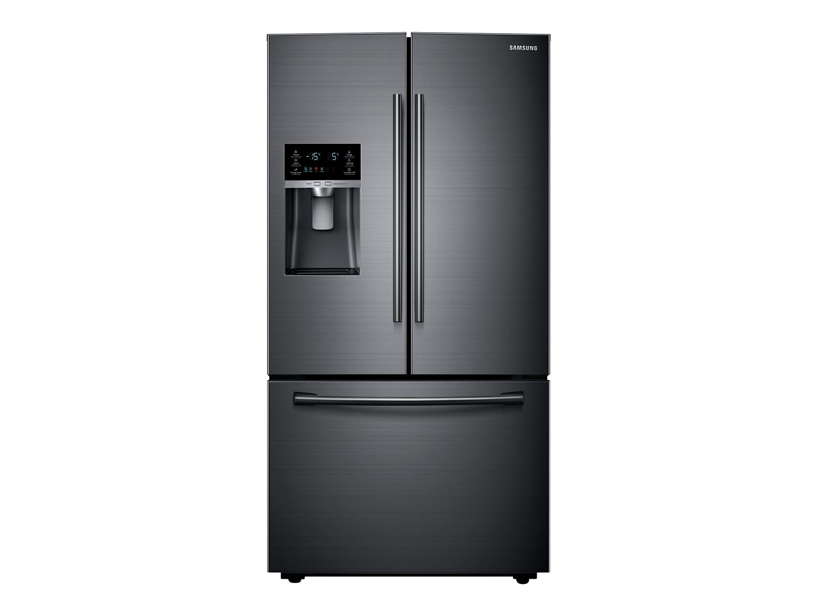 23 cu. ft. French Door Refrigerator in Black Stainless Steel
