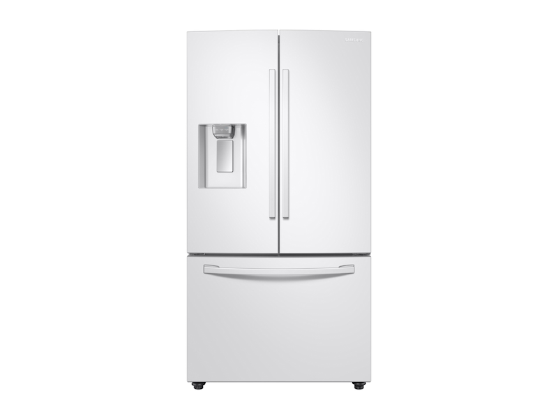 23 Cu Ft 3 Door French Door Counter Depth Refrigerator With Coolselect Pantry In White Refrigerator Rf23r6201ww Aa Samsung Us