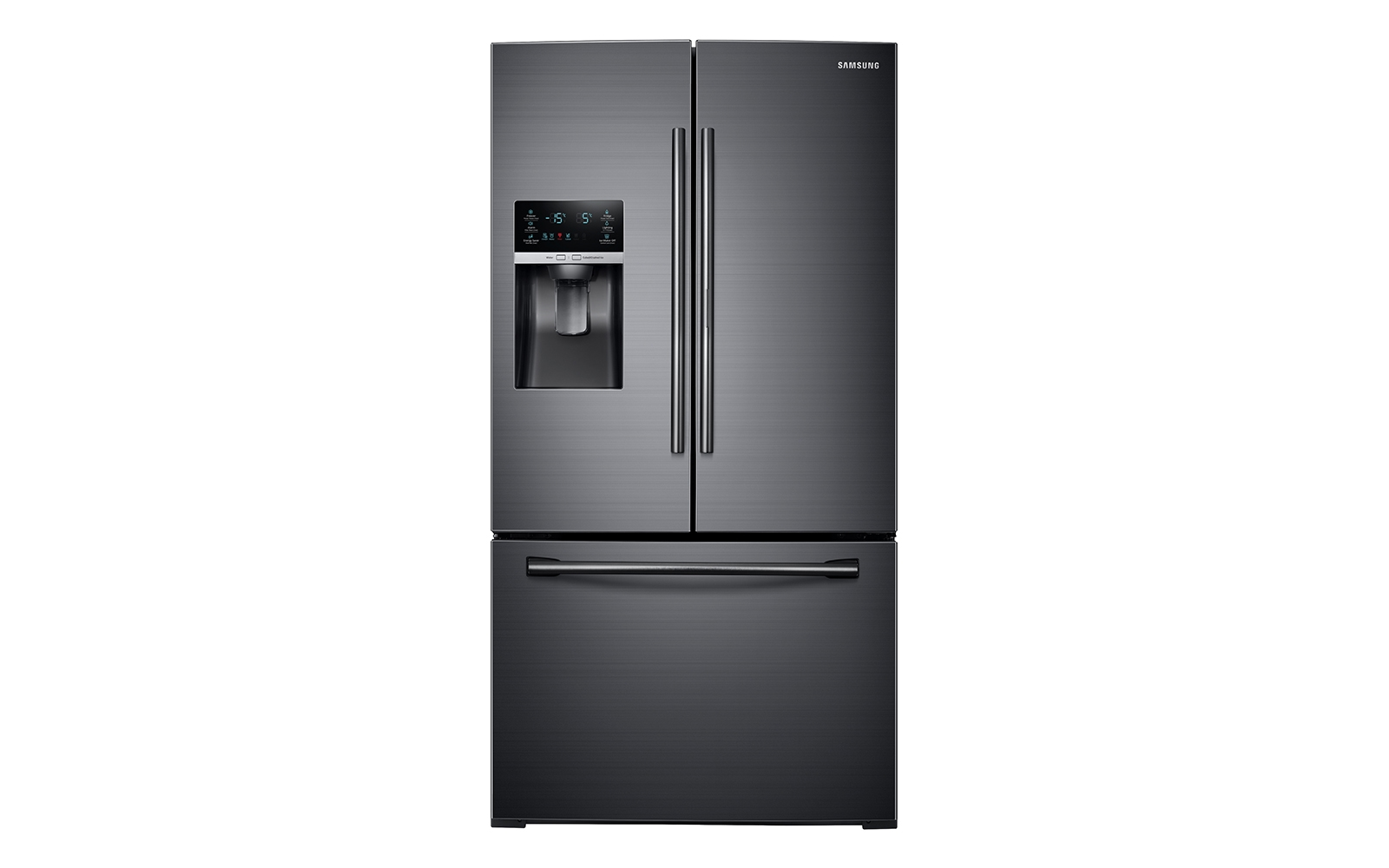 28 cu ft 3 door french door food showcase refrigerator refrigerators rf28hdedbsg aa samsung us. Black Bedroom Furniture Sets. Home Design Ideas