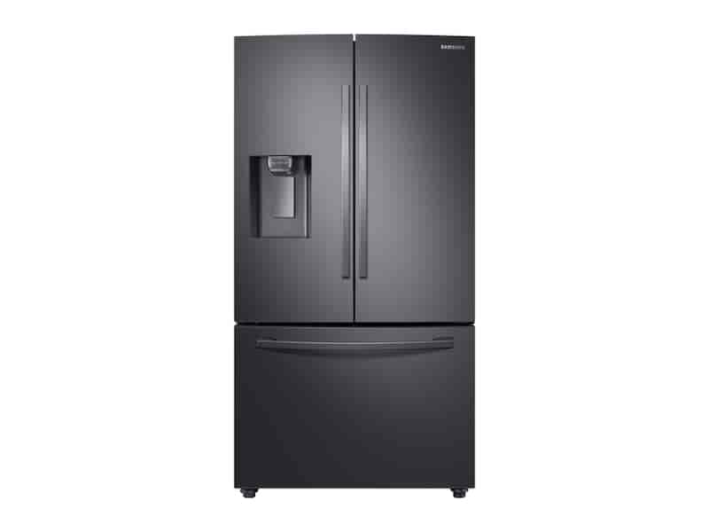 28 cu. ft. 3-Door French Door, Full Depth Refrigerator with CoolSelect Pantry™ in Black Stainless Steel