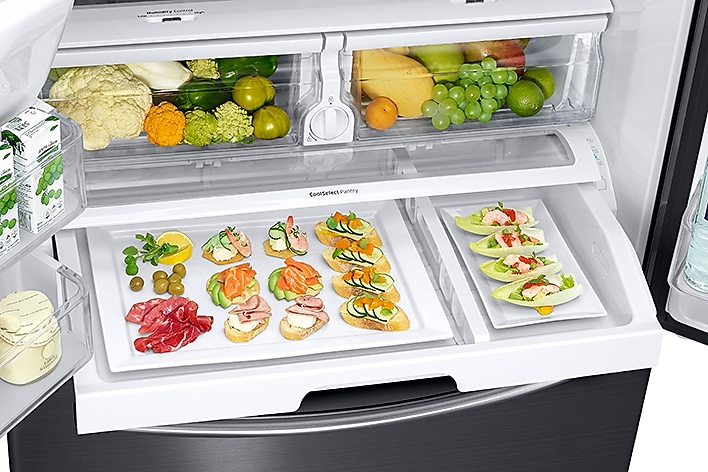 26 Cu Ft French Door Refrigerator With Filtered Ice
