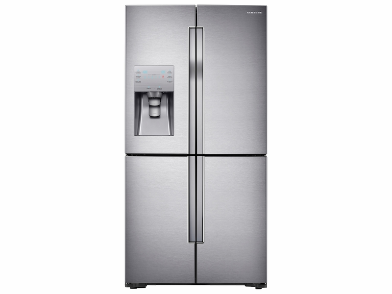 Best Counter Depth Refrigerator 2015 >> 23 Cu Ft Counter Depth 4 Door Flex Refrigerator With Flexzone In Stainless Steel