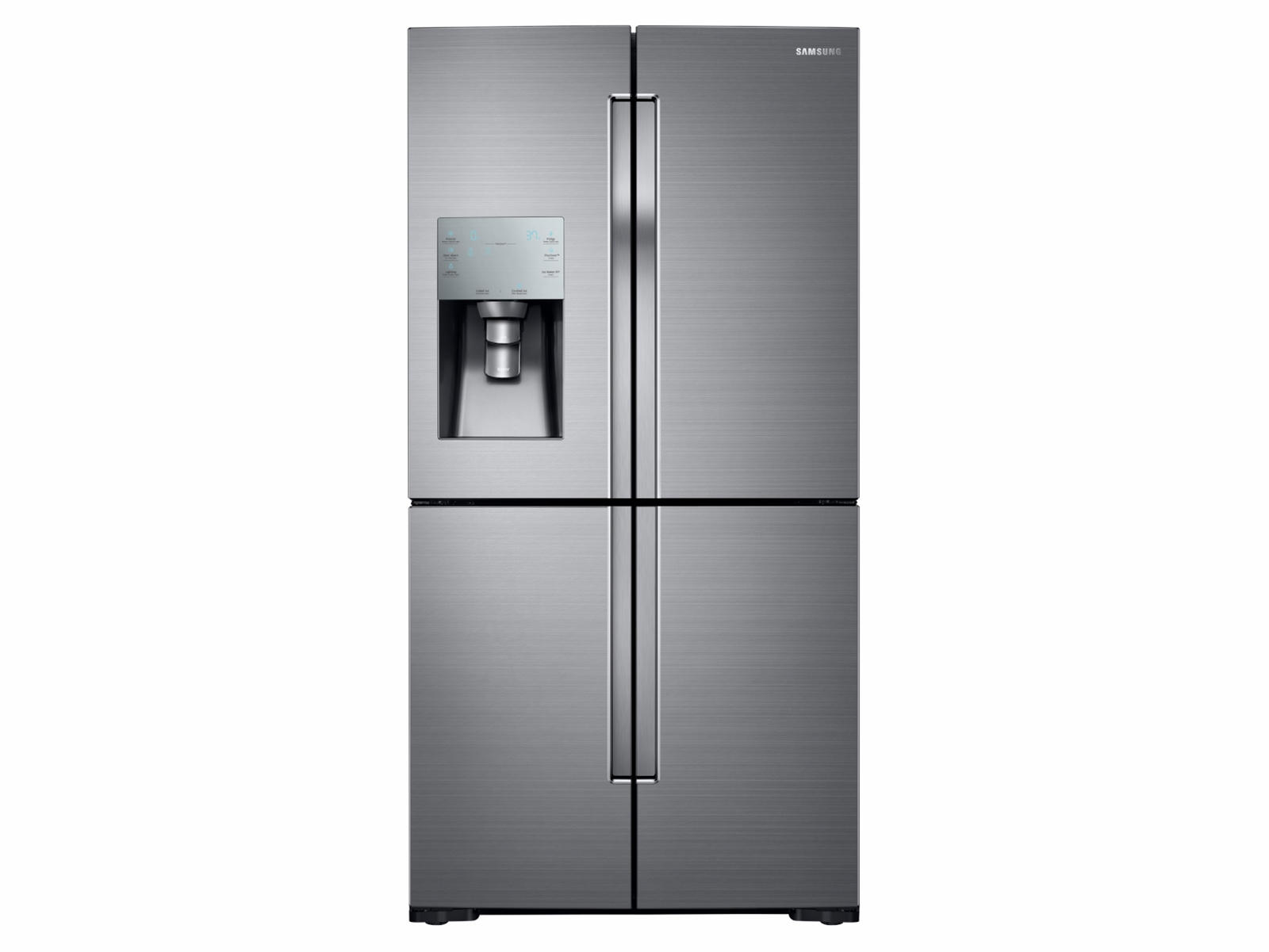 28 cu. ft. 4-Door Flex Refrigerator with FlexZone in Stainless Steel