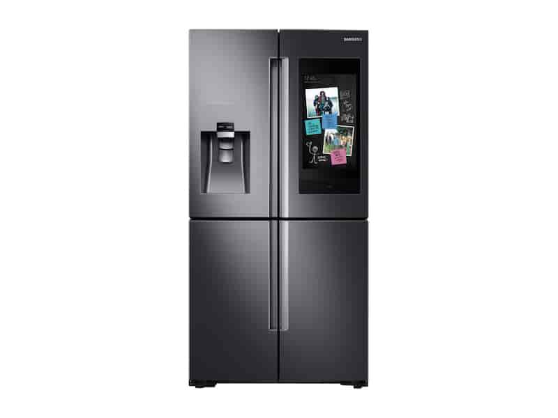 22 cu. ft. Counter Depth 4-Door Flex™ with 21.5 in. Connected Touch Screen Family Hub™ Refrigerator