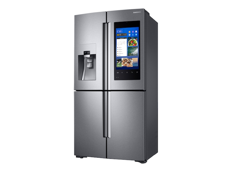 Model: RF22M9581SR | 22 cu. ft. Capacity Counter Depth 4-Door Flex™ Refrigerator with Family Hub™ (2017)