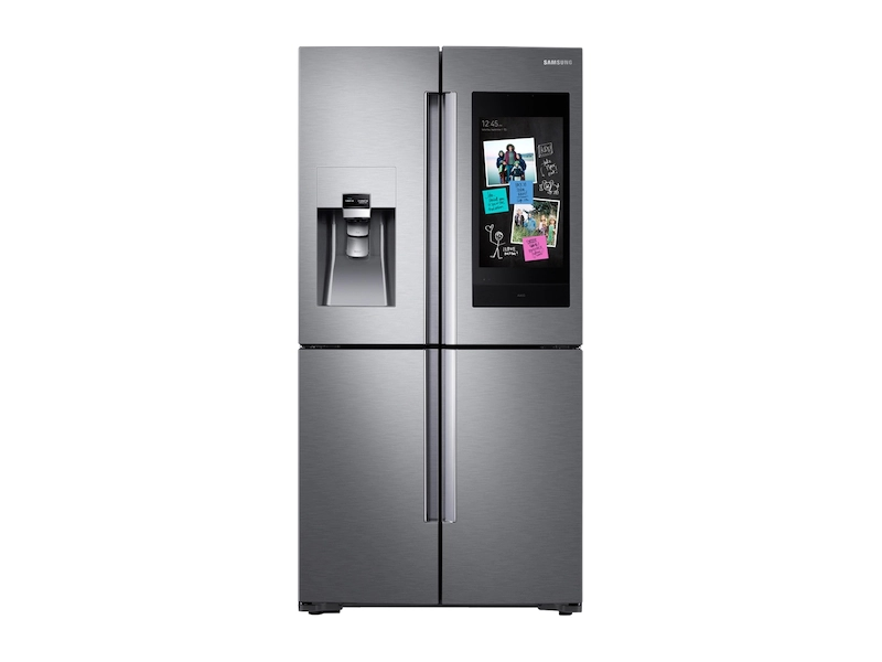 28 cu. ft. Family Hub 4-Door Flex Refrigerator in Stainless Steel