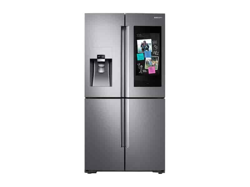 28 cu. ft. Family Hub™ 4-Door Flex™ Refrigerator in Stainless Steel