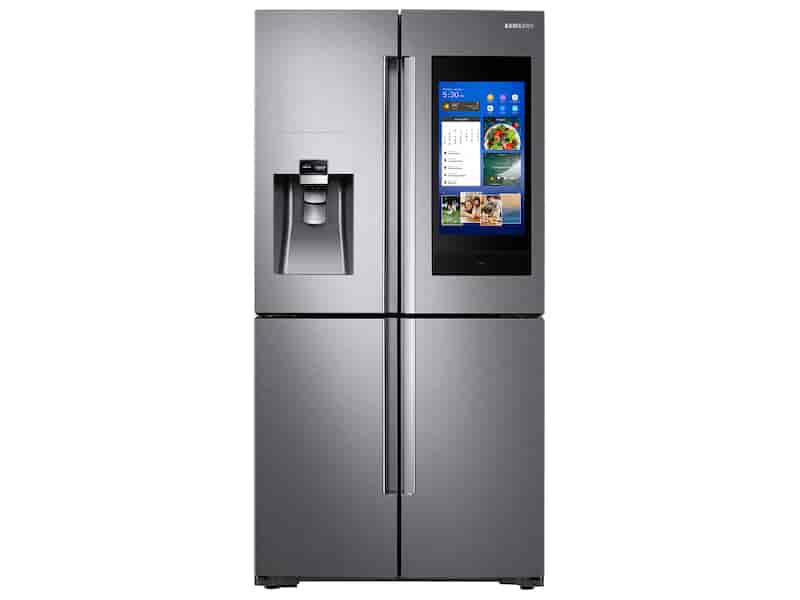 28 cu. ft. 4-Door Flex™ with 21.5 in. Connected Touch Screen Family Hub™ Refrigerator