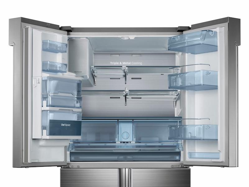 34 Cu Ft 4 Door Flex Chef Collection Refrigerator Refrigerators