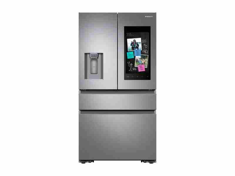 22 cu. ft. Capacity Counter Depth 4-Door French Door Refrigerator with Family Hub™ Recessed Handles