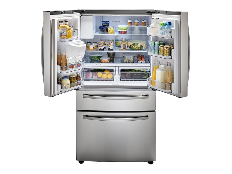 28 Cu Ft 4 Door French Door Refrigerator With Flexzone