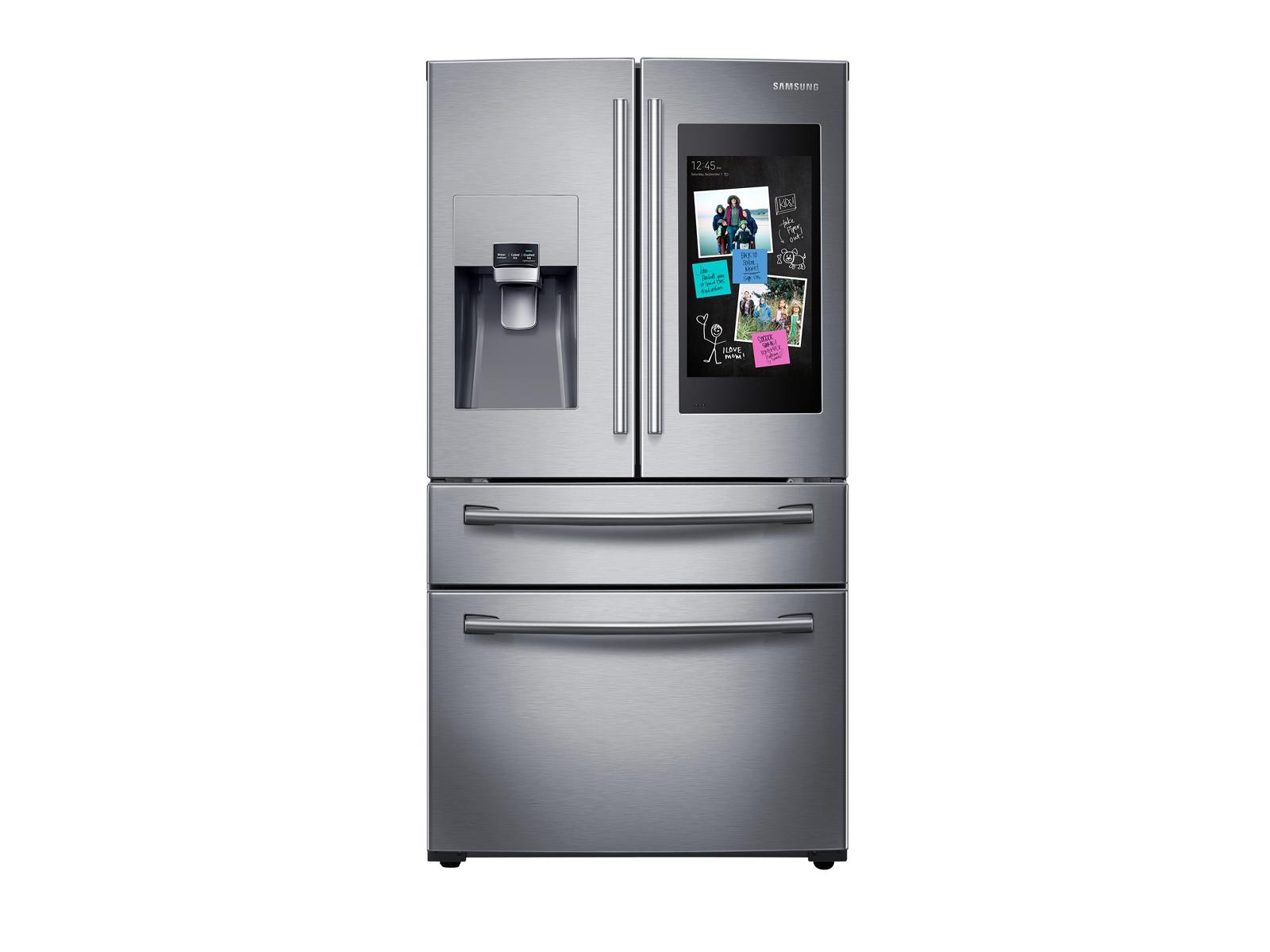 28 cu. ft. Family Hub 4-Door French Door Refrigerator  in Stainless Steel