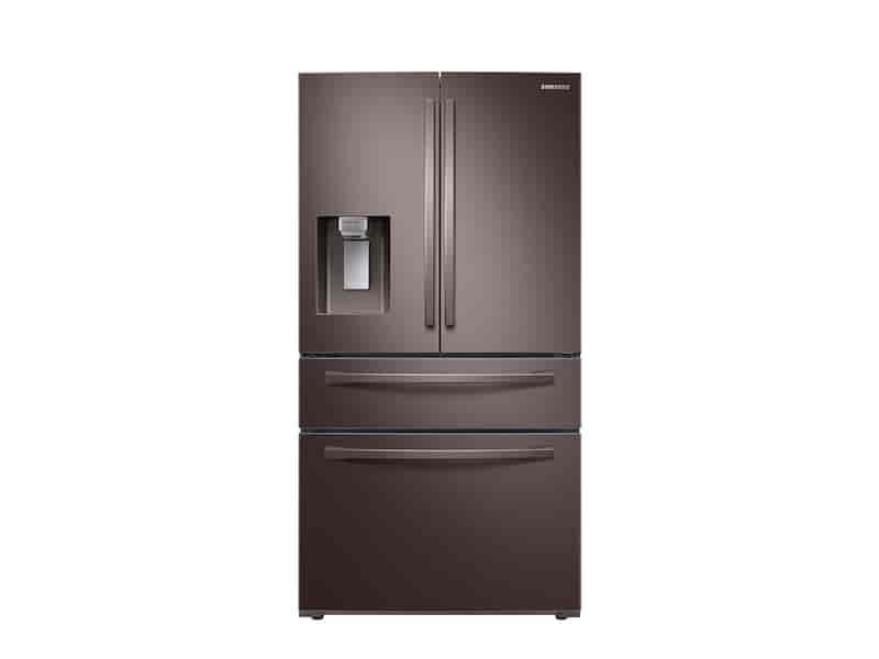 23 cu. ft. 4-Door French Door, Counter Depth Refrigerator with FlexZone™ Drawer in Tuscan Stainless Steel