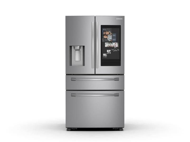 28 Cu Ft 4 Door French Door Refrigerator With 21 5 Inch