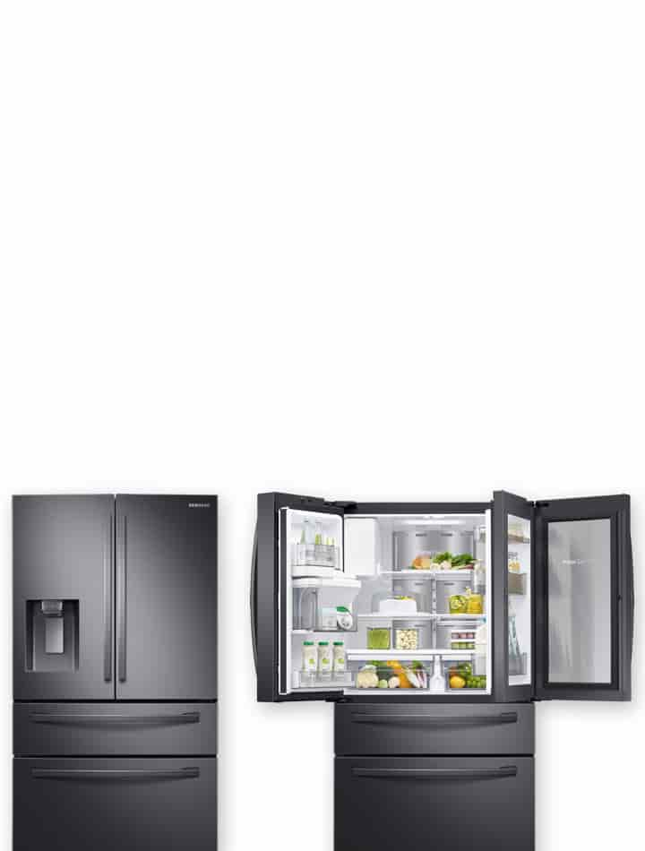 The new French Door Refrigerators are here.
