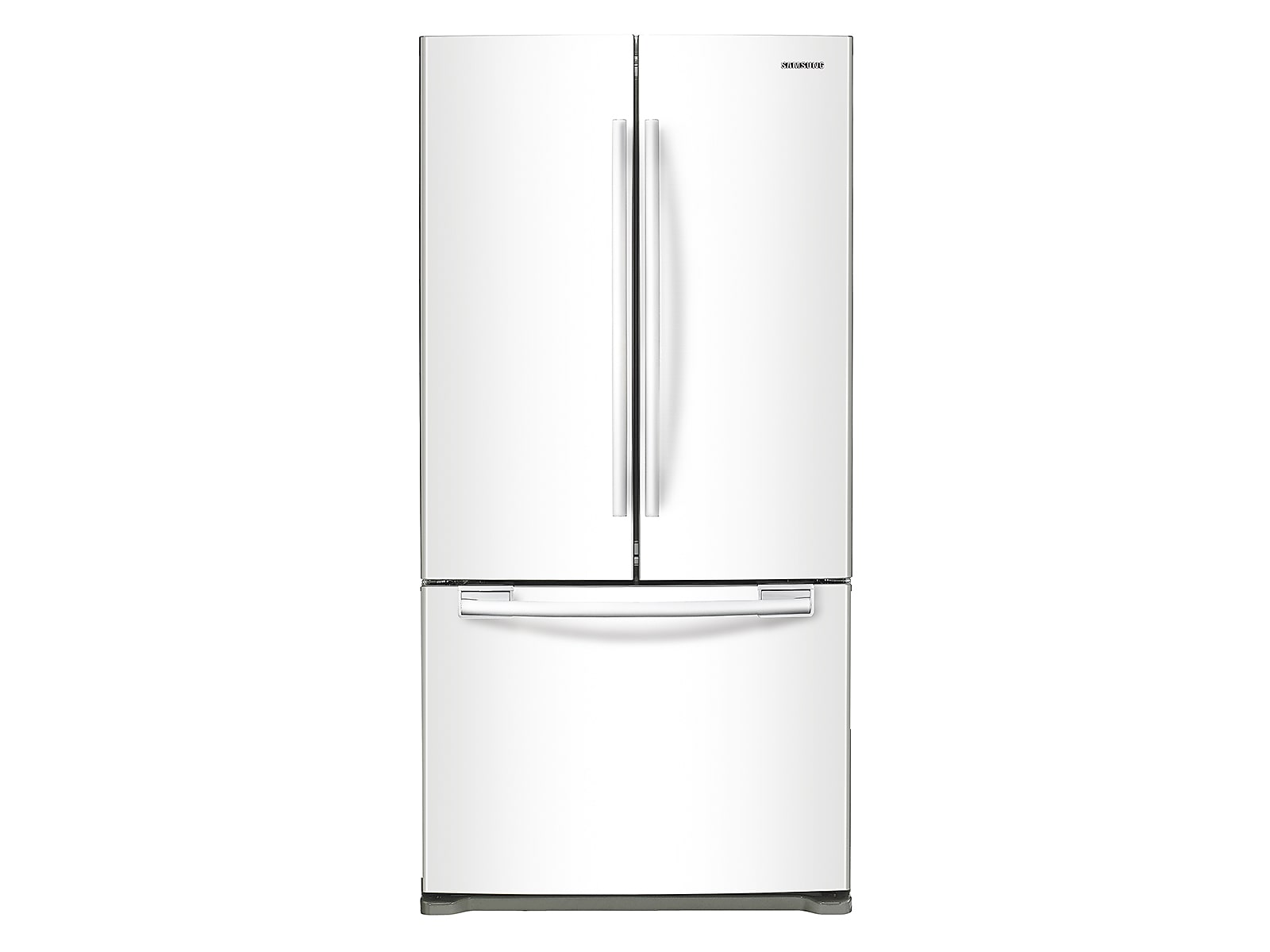 Samsung 18 cu. ft. Counter Depth French Door Refrigerator in Stainless Platinum(RF18HFENBWW/US)