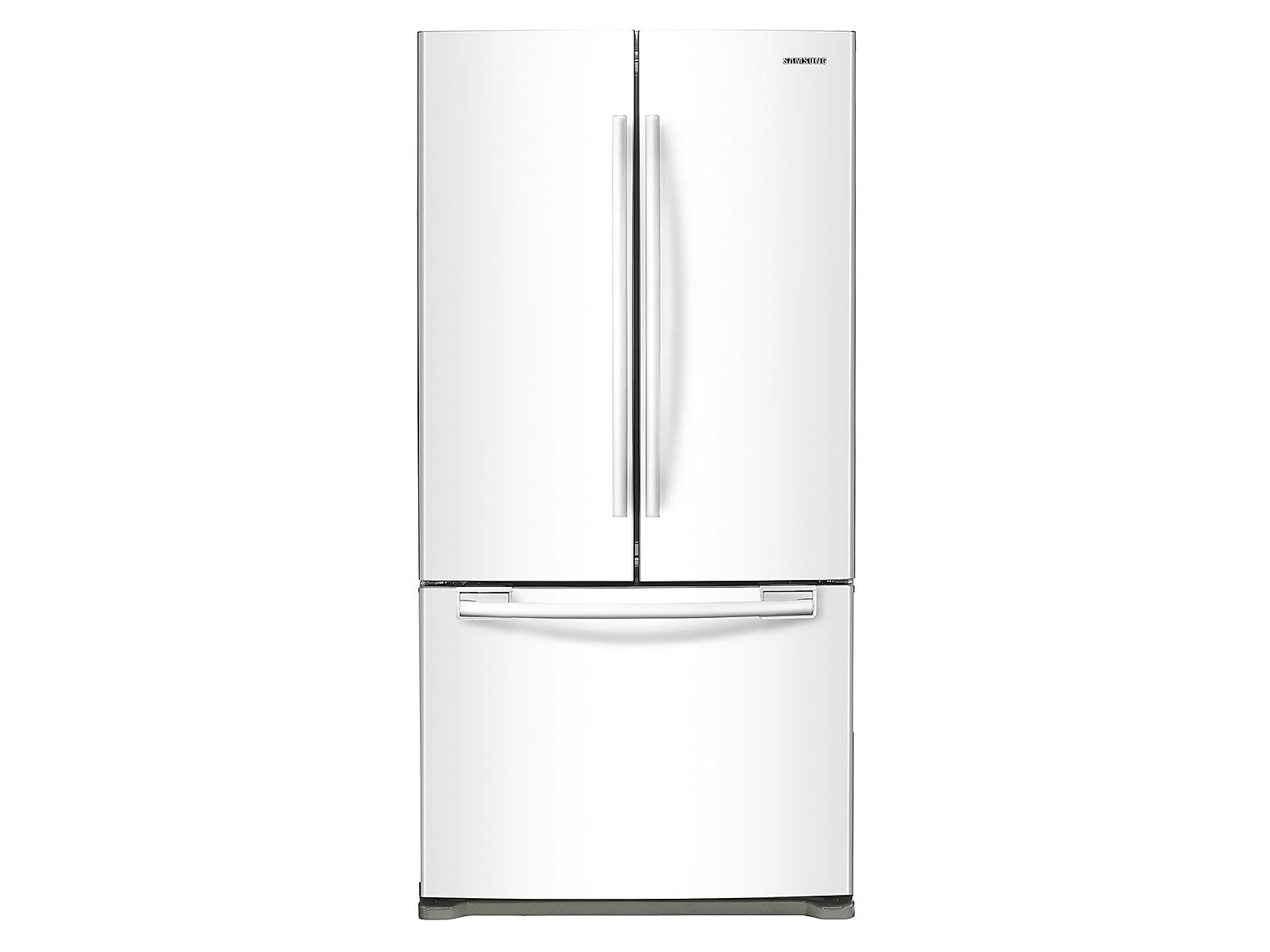 Samsung 20 cu. ft. French Door Refrigerator in White(RF20HFENBWW/US)
