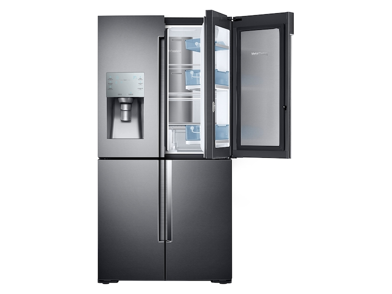 22 cu. ft. Counter Depth 4-Door Flex™ Food Showcase Refrigerator with FlexZone™
