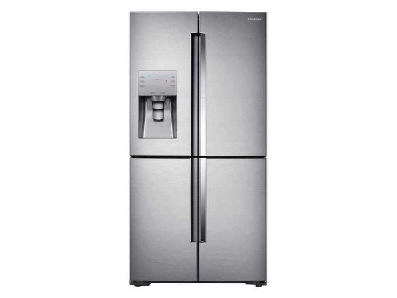 22 cu. ft. Food Showcase Counter Depth 4-Door Flex? Refrigerator with FlexZone? in Stainless Steel