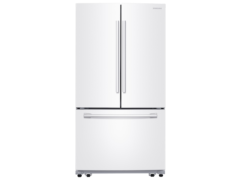 26 Cu Ft French Door Refrigerator With Internal Filtered Water In White