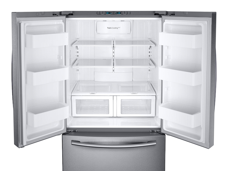 26 cu  ft  French Door Refrigerator with Twin Cooling Plus™