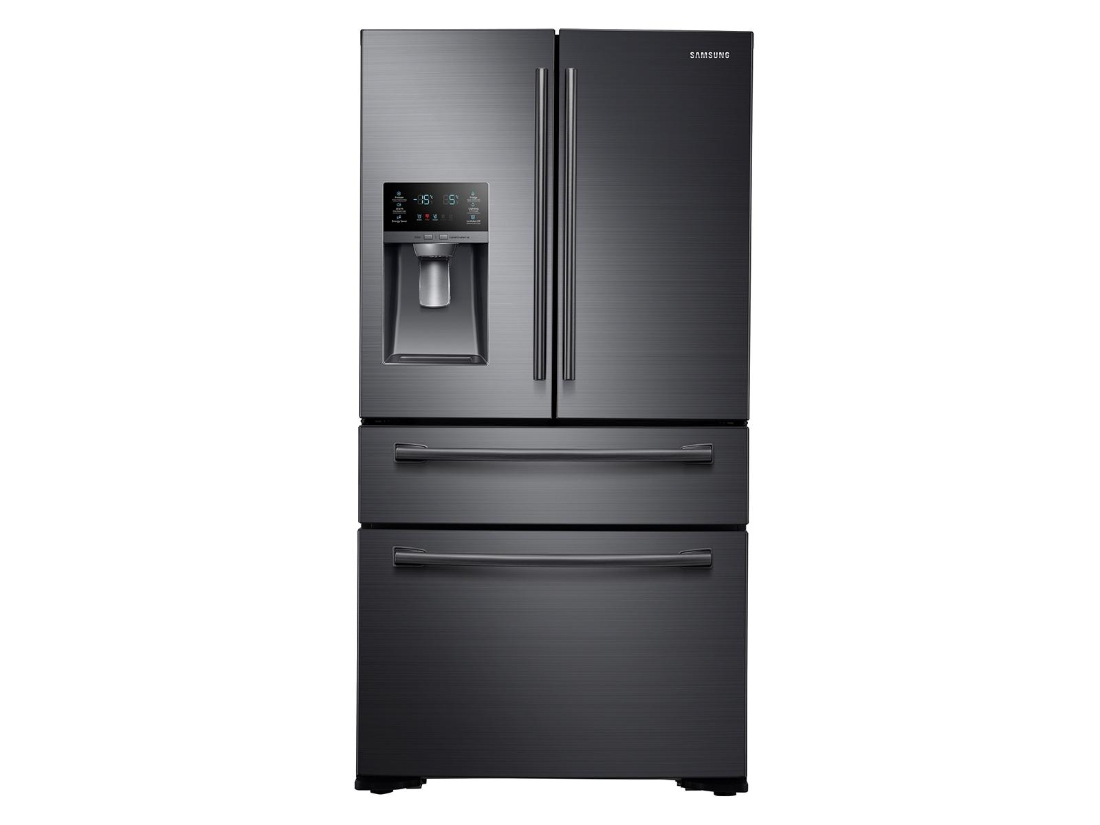 30 cu. ft. 4-Door French Door Refrigerator in Black Stainless Steel