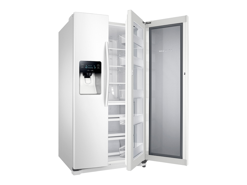 d852dbc21e Side-by-Side Food ShowCase Refrigerator with Metal Cooling Refrigerators -  RH25H5611WW AA