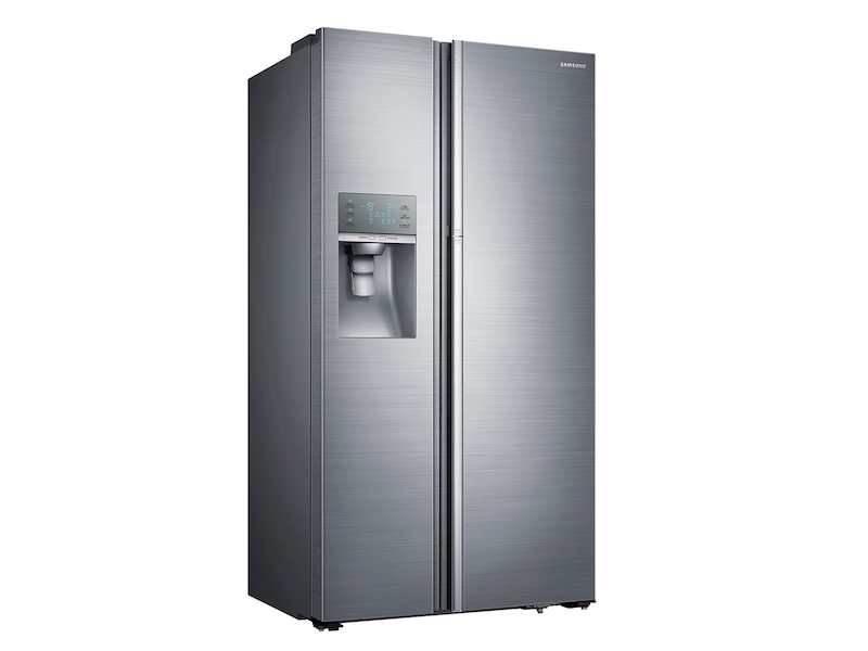 29 Cu Ft Side By Food Showcase Refrigerator With Metal Cooling