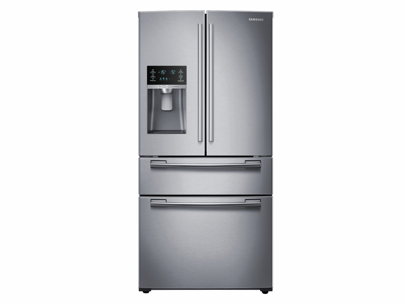 25 Cu Ft French 4 Door Refrigerator Rf25hmedbsr Aa