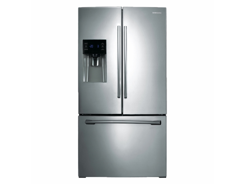 25 Cu Ft French Door Refrigerator With External Water Ice Dispenser In Stainless Steel