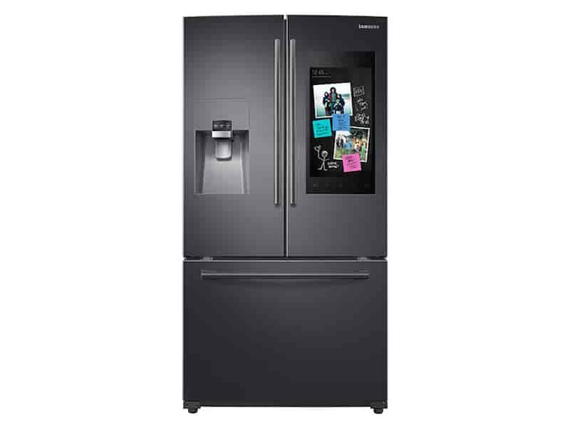 24 cu. ft. Family Hub™ 3-Door French Door Refrigerator in Black Stainless Steel