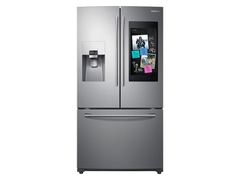 24 Cu Ft Capacity 3 Door French Door Refrigerator With
