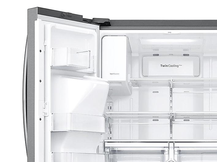 24 Cu Ft Family Hub 3 Door French Door Refrigerator In