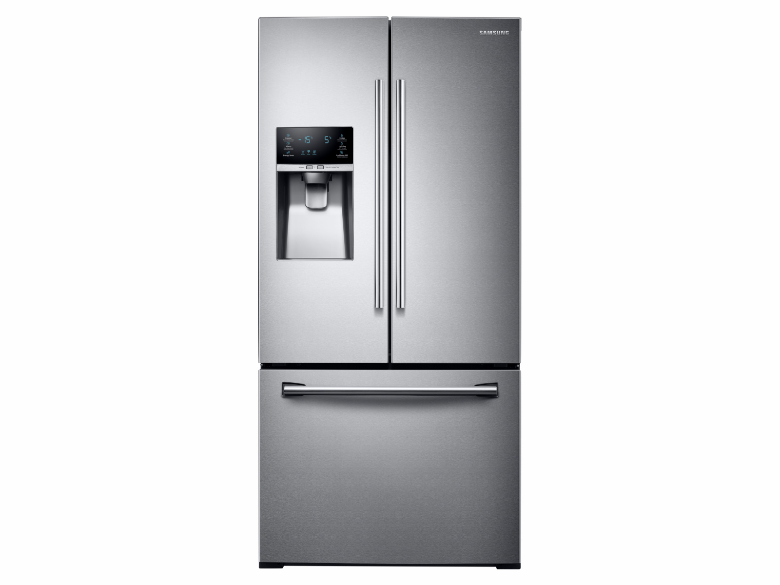 26 cu. ft. 3-Door French Door Refrigerator with CoolSelect Pantry™ in Stainless Steel