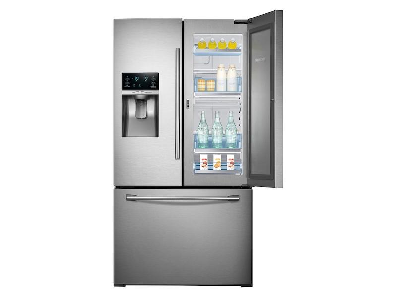28 cu  ft  3-Door French Door Food ShowCase Refrigerator