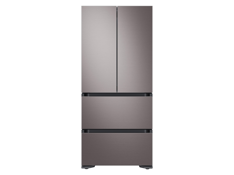 17.3 cu. ft. Smart Kimchi & Specialty 4-Door French Door Refrigerator in Platinum Bronze