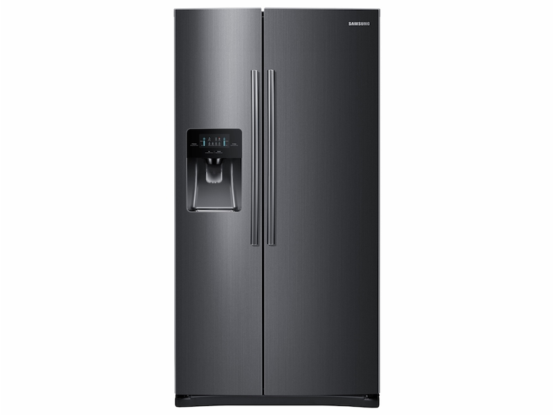 245 Cu Ft Side By Side Refrigerator With In Door Ice Maker