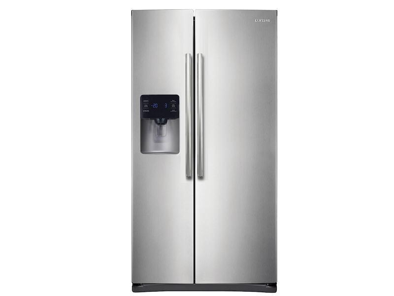 24 5 cu  ft  Side-By-Side Refrigerator with In-Door Ice Maker