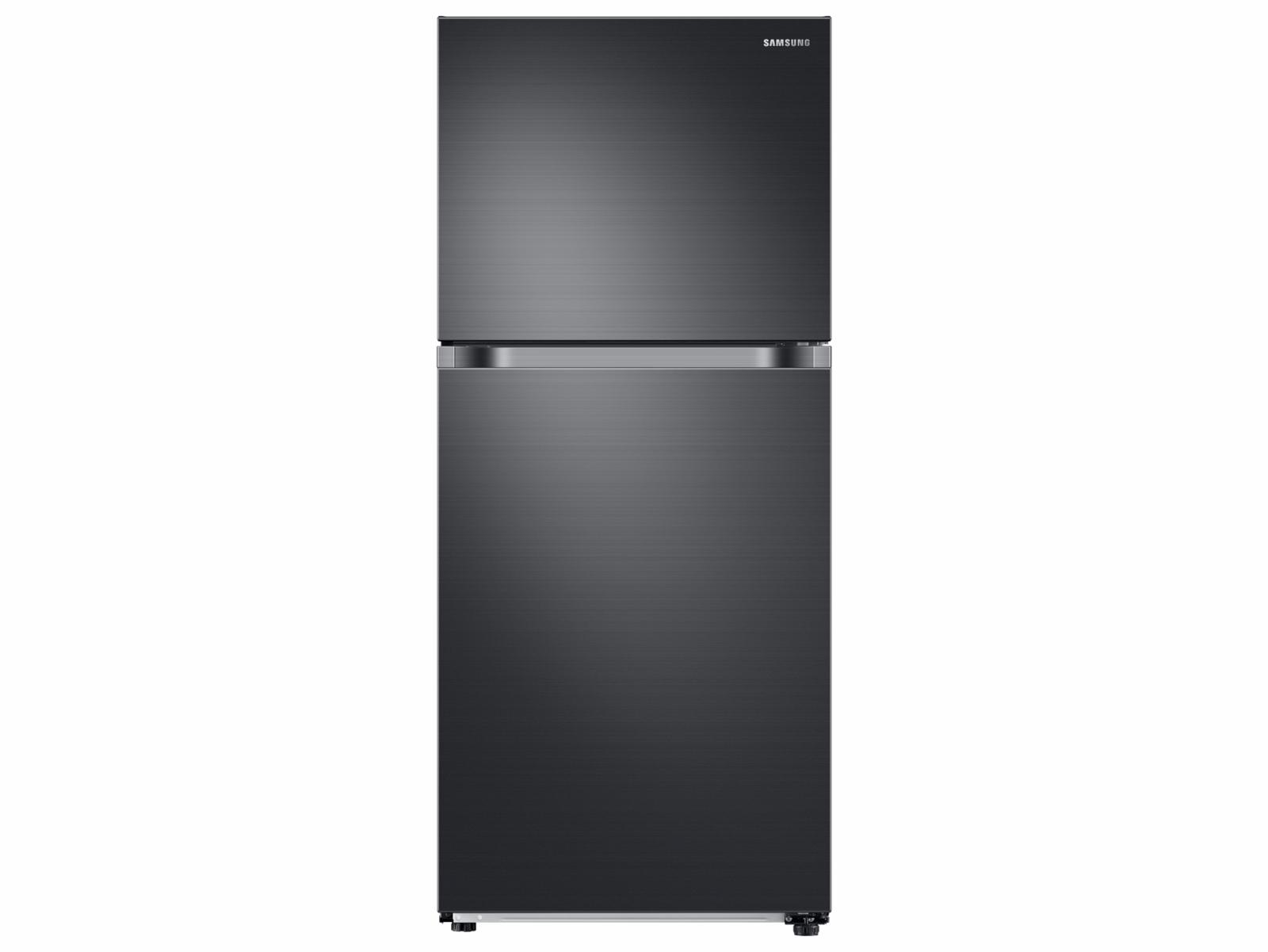 Samsung 18 cu. ft. Top Freezer Refrigerator with FlexZone in Black Stainless Steel, Fingerprint Resistant Black Stainless Steel
