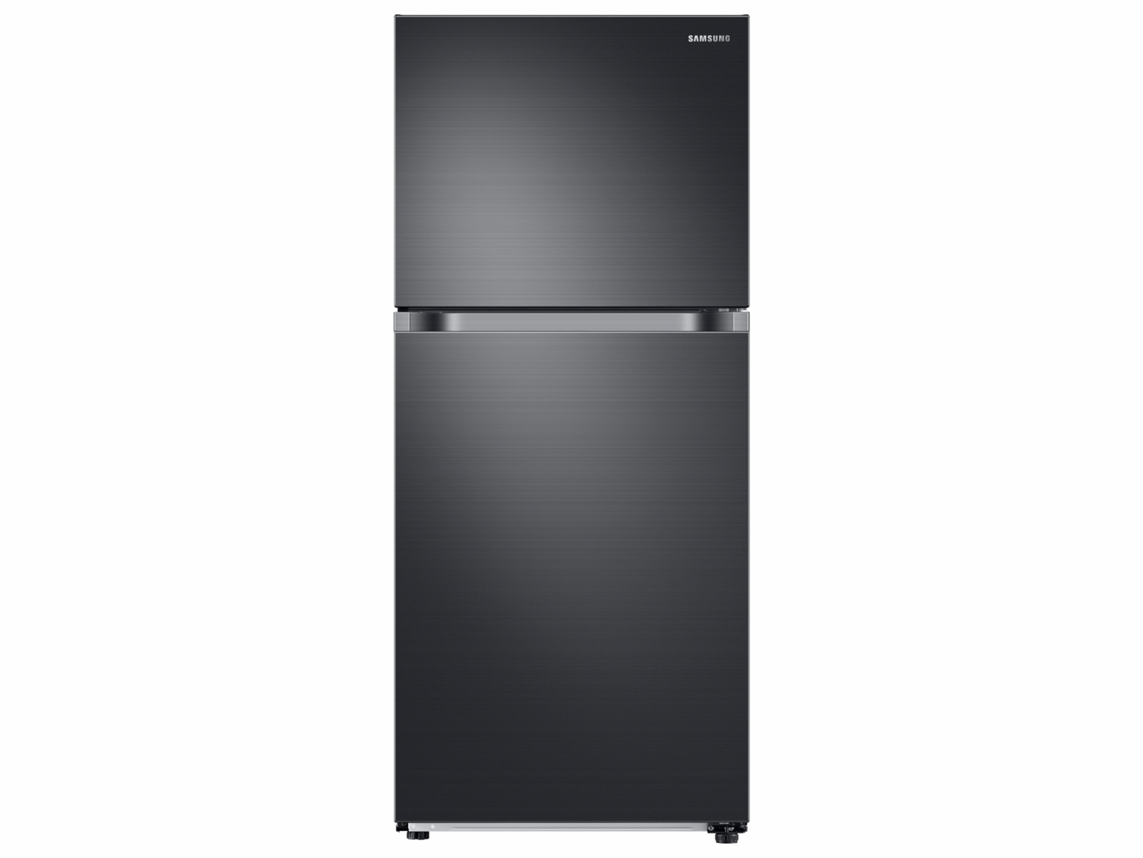 Samsung 18 cu. ft. Top Freezer Refrigerator with FlexZone and Ice Maker in Black Stainless Steel, Fingerprint Resistant Black Stainless Steel