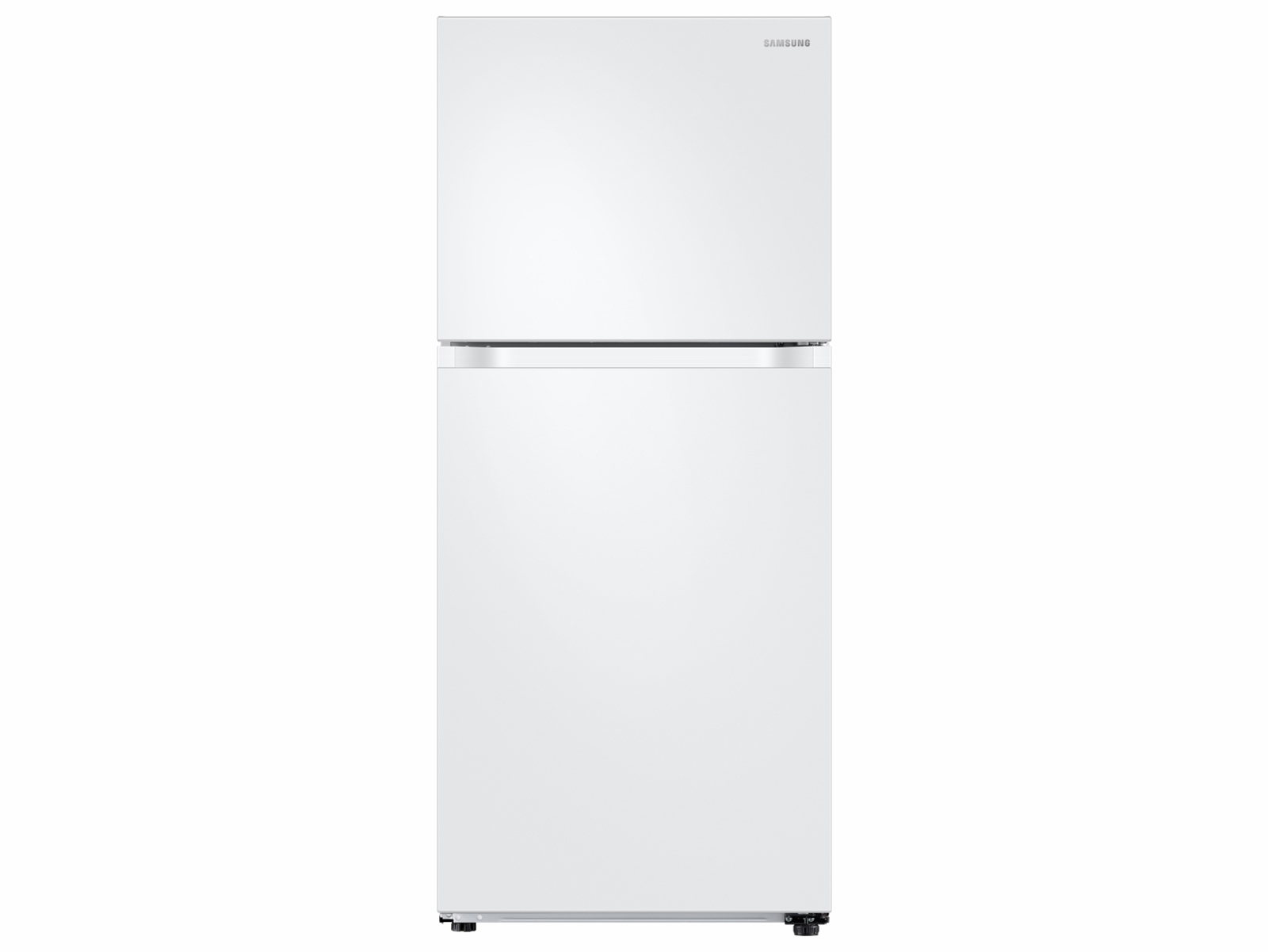 Samsung 18 cu. ft. Top Freezer Refrigerator with FlexZone and Ice Maker in White