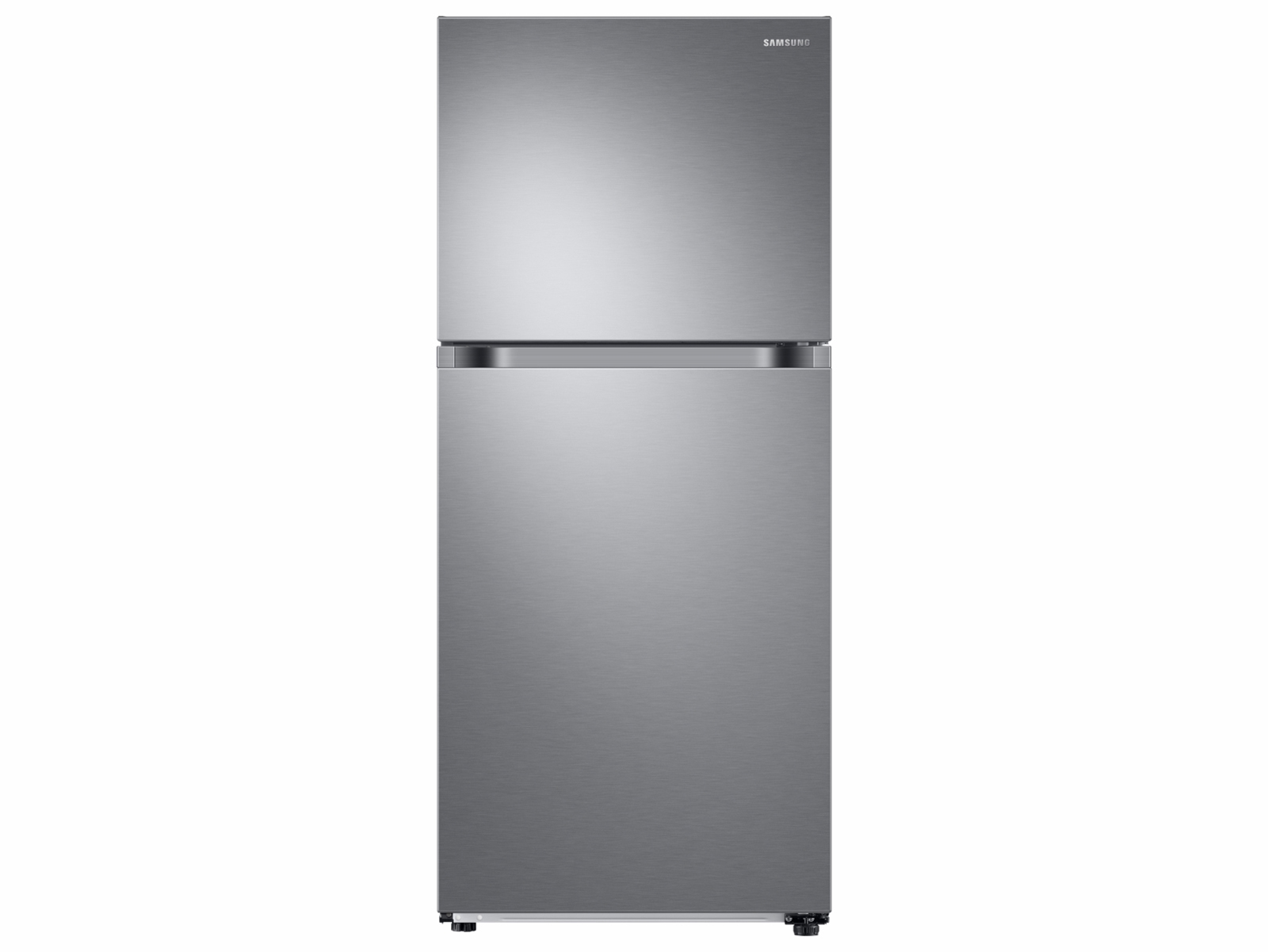 Samsung 18 cu. ft. Top Freezer Refrigerator with FlexZone in Stainless Steel, Fingerprint Resistant Stainless Steel