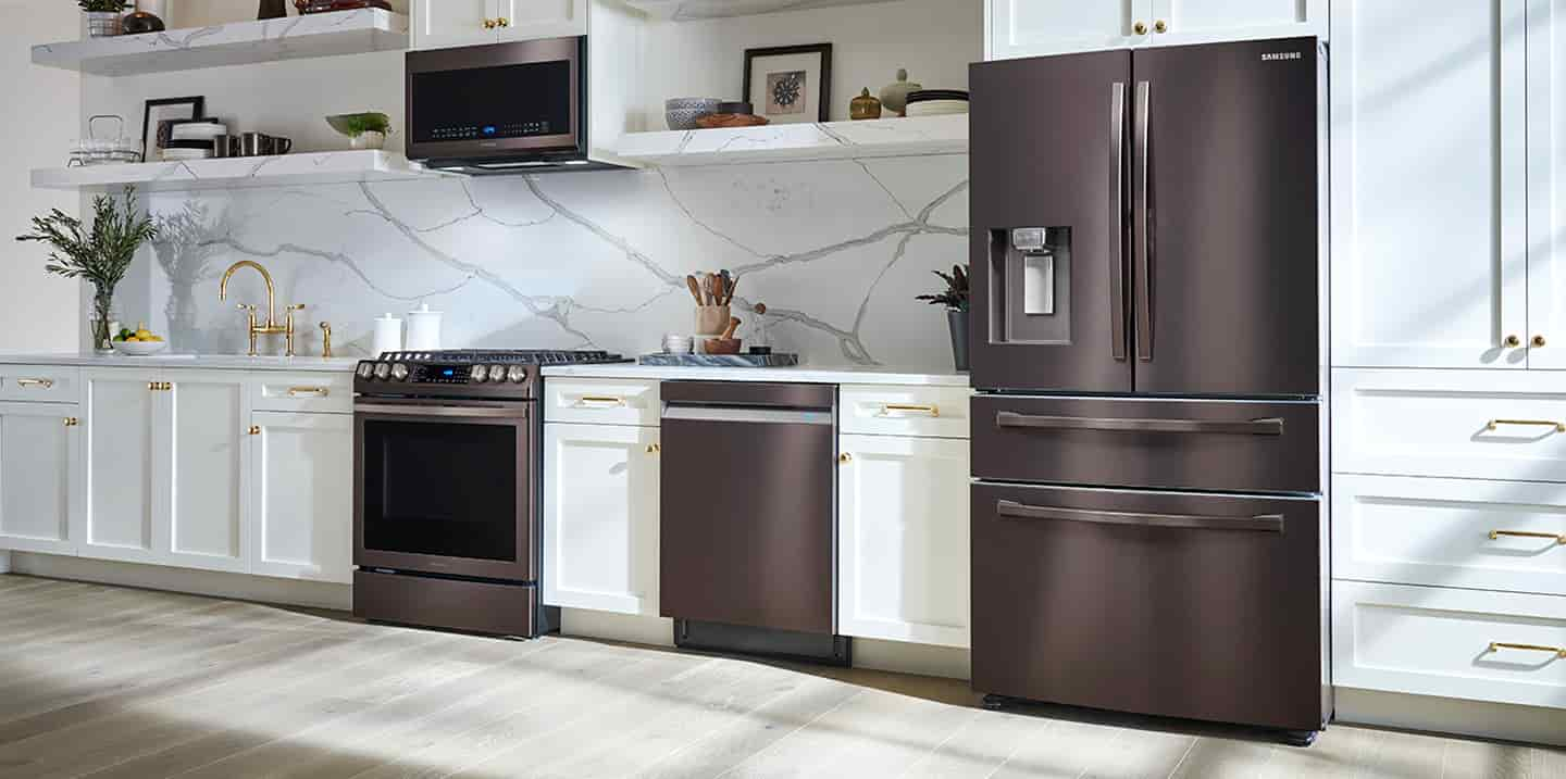 Elevate your kitchen with Tuscan Stainless Steel Appliances.