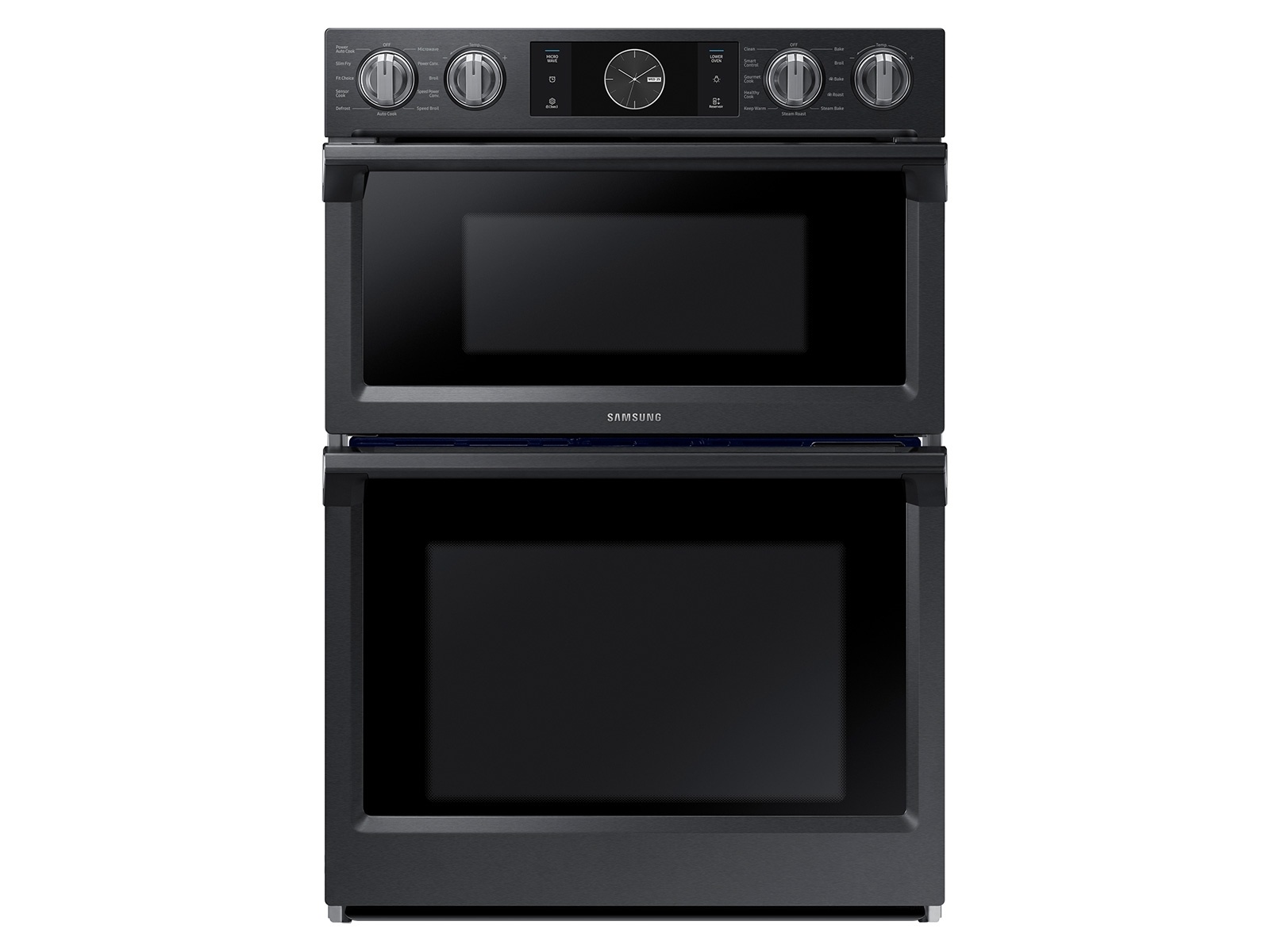 30 Inch Flex Duo Microwave Combination Wall Oven In Black