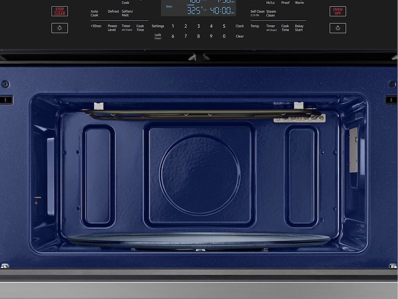 30 Inch Microwave Combination Wall Oven In Stainless Steel