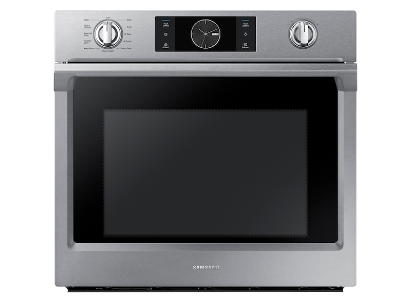 30 single wall oven with flex duo