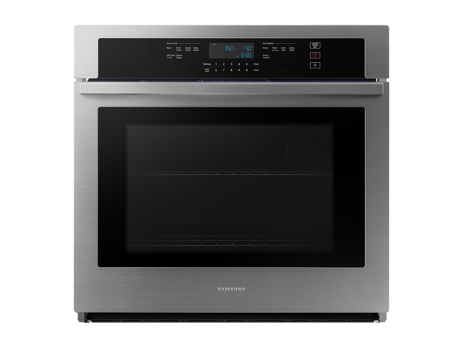 30 Single Wall Oven With Wi Fi In Stainless Steel Wall Ovens Nv51t5511ss Aa Samsung Us