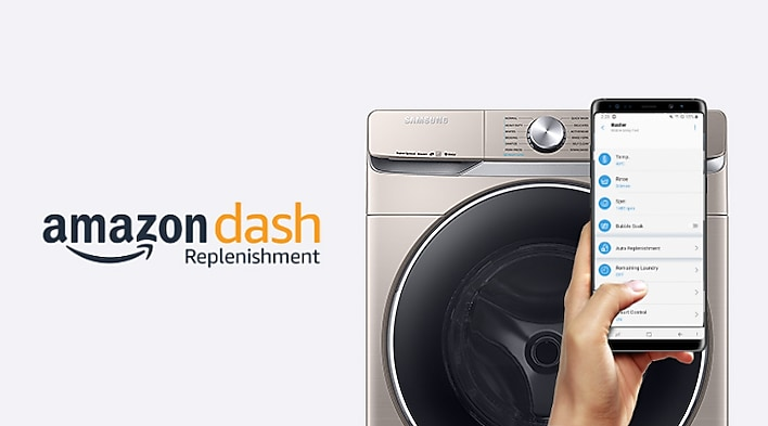 4 5 Cu Ft Front Load Washer With Steam Wash In Champagne Wf45r6300ac Samsung Us